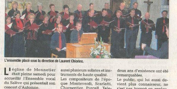 Un concert de belles voix