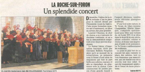 Un splendide concert