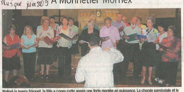 fête de la musique à Monnetier-Mornex